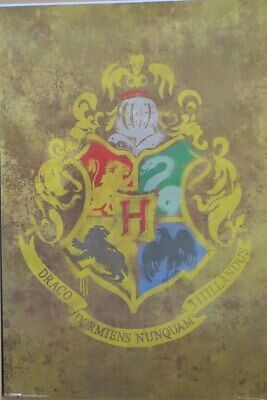 Harry Potter - House Sigils- Poster-Laminated available-91cm x 61cm-Brand New