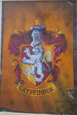 Harry Potter Movie : Gryffindor Flag- Poster-Laminated available-91cm x 61cm-...