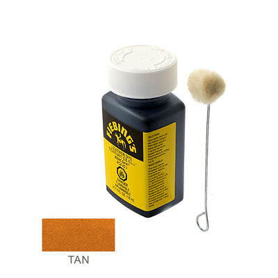 Fiebing's Leather Dye - Tan - Includes one Wool Dauber