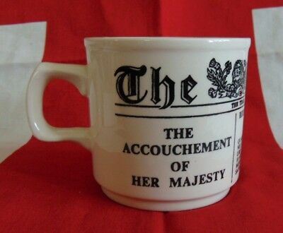 Accouchement of Queen Victoria 1841 Birth of  King Edward VII Commemoration Cup