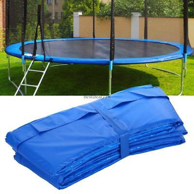 """10/12/14/15"""" Trampoline Safety Pad Spring Round Frame Pad Cover Replacement"""