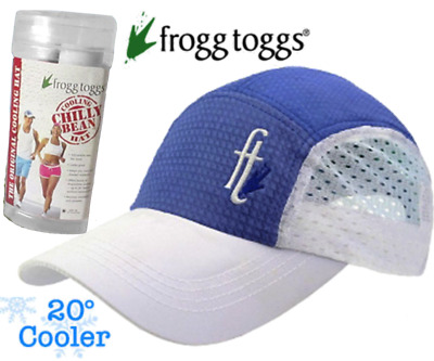 The Original Chilly Bean Cooling Hat Frogg Toggs Feel 20° Cooler Includes Case!