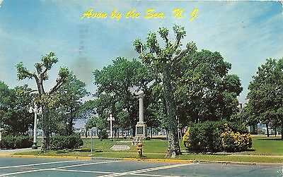 Avon by the sea new jersey sylvan hotel street view antique postcard avon by the sea new jerseythe park thompson squaremonument1959 sciox Images
