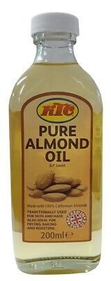 KTC 100% Pure Almond Oil - Mandelöl 200ml