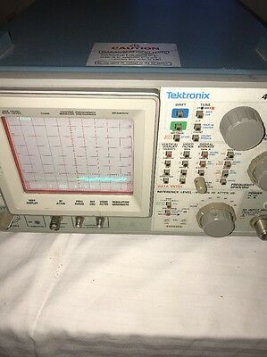 Tektronix 495P Programmable Spectrum Analyzer