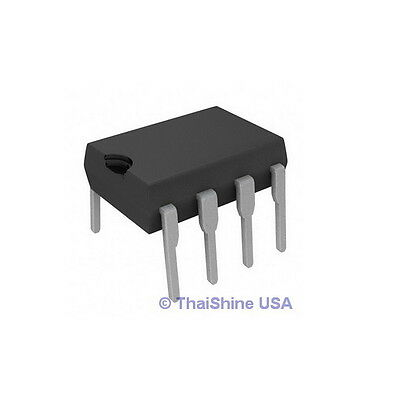 10 x TL082 TL082CN J-FET DUAL OP-AMP IC - SGS THOMSON - USA SELLER - Free Ship