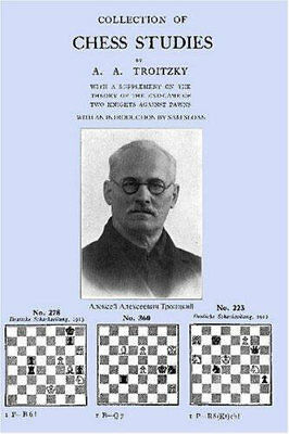 Collection of Chess Studies by Troitzky (Chess Book)