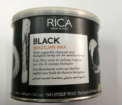 Rica Black Brazilian Wax Biologico 400 Ml