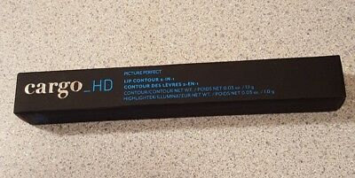 Cargo_HD Picture Perfect Lip Contour 2 in 1 New in Box  Color=112 Brown Nude