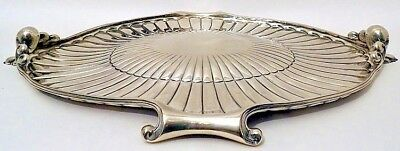 A large oval sterling silver platter, Tane, Mexico City c.1950