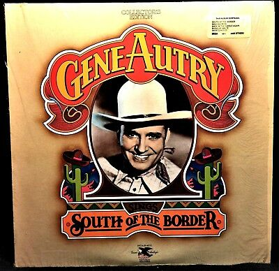 Gene Autry, Sings South of The Border, Collector's Edition, IRDA6011,Vinyl LP926