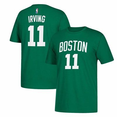 caad12a7f4e Boston Celtics Kyrie Irving Men's Adidas Player Name & Number Jersey T-Shirt
