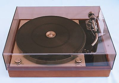 Thorens Td150 Mk1 & Mk11 Bronze Acrylic Lid & Support Hinge By Audio Classique