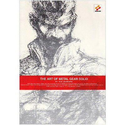 THE ART OF METAL GEAR SOLID by Yoji Shinkawa  RARE GAME ARTBOOK MGS HIDEO KOJIMA