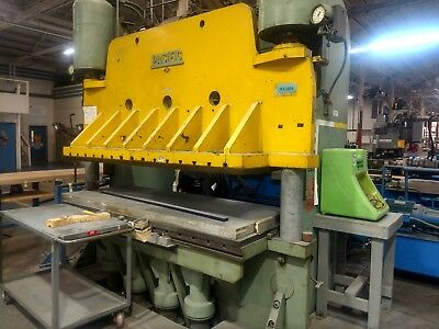 Pacific 250 Ton Hydraulic Down Acting and Up Acting Press Brake
