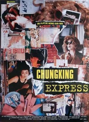Chungking Express - Wong Kar Wai / Leung - Hong Kong - Original Movie Poster
