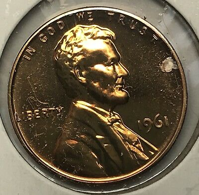 1961 Lincoln Memorial Cent Proof. Collector Coin For Your Set. 2