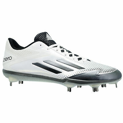 outlet store 23640 3aa9c NEW adidas Adizero Afterburner 2.0 Mens White S85704 Metal Baseball Cleats  7.5