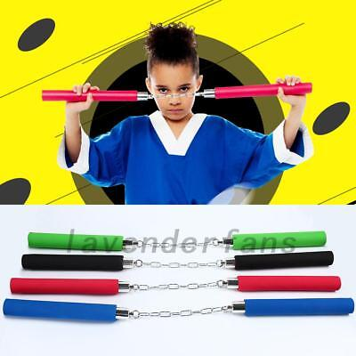 Training Practice Foam Dragon Pattern Nunchucks Nunchaku Kids Freshman Gift AU