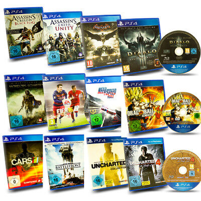 PS4 Game Assassins Creed Batman Driveclub Fifa 15 16 Need for Speed Uncharted