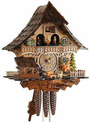 Black Forest House 36cm- Cuckoo Clock Original Real Wood