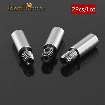 2pcs 3D printer V6 throat hotend J-head Throat length 20/23mm 1.75/3mm filament.