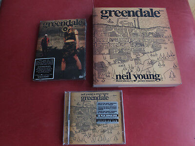 Neil Young - Greendale Cd + DVD Live in Ireland / DVD Greendale Movie & Book