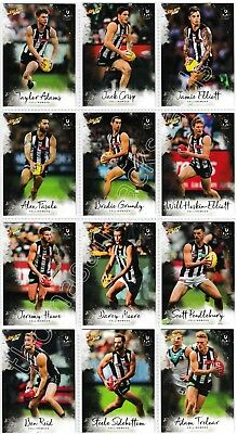 2018 Afl Select Footy Stars Collingwood Magpies Common Team Set All 12 Cards