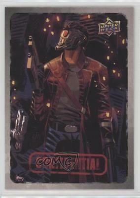 2015 Upper Deck Marvel Dossier #27 Star-Lord Non-Sports Card 2a1