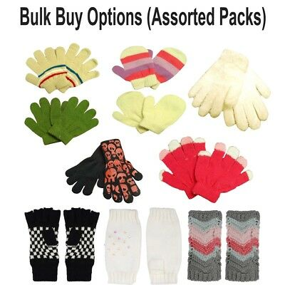Toddlers Baby High Quality Gloves Winter Magic Mitten One Size Bulk Quantity