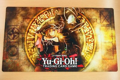 C1575 Free Mat Bag Custom Playmat Yugioh Dark Magician Dark Magician Girl Mat