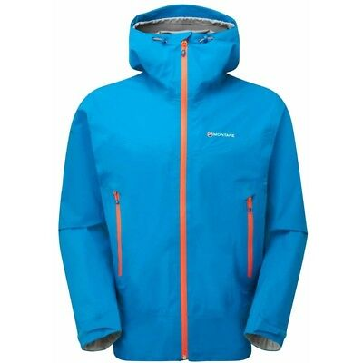 Montane Mens Surge Jacket Waterproof And Highly Breathable Fabric - Blue Xl