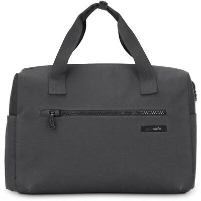 "Pacsafe Intasafe Brief Anti-Theft 15"" Laptop Bag With Smart Zipper Security-Grey"