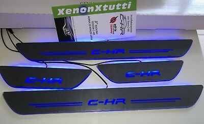 Battitacco Sottoporta Led Toyota Chr C-Hr 2016 2018 Door Sill Led Dynamic