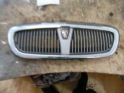 MK1 Rover 45 Front Bumper Grille / Grill / Badge in CHROME