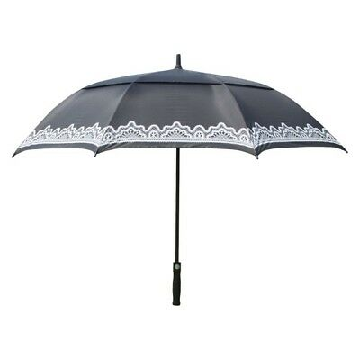 Surprizeshop Black Ladies Golf Umbrella