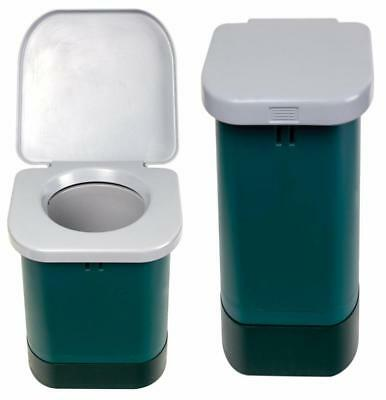 Stansport Portable Camp Toilet (14.7x14.7x14.6-Inch)