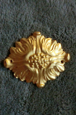 Armoire Rosette French Oval Ormolu Furniture Gold Mount