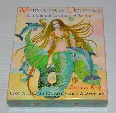 MERMAIDS and DOLPHINS Magical Creatures of the Seas Cards GILLIAN KEMP