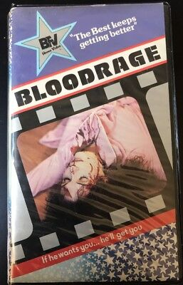 BLOODRAGE Beta Not VHS  VERY RARE Late 70's Low-budget Horror Camp 🎬