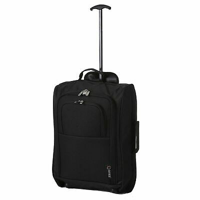 Cabin Approved Travel Bag Wheeled Lightweight Suitcase Hand Luggage Trolley Case