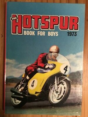 Hotspur Book for Boys 1973 (Annual) (Hardcover) Book , Unclipped, Very Good