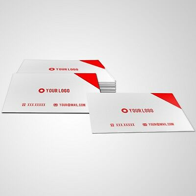 Print Custom Business Cards - 1000 Matte - Single Sided - $12