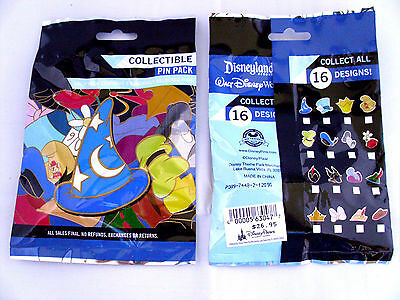 Disney * CHARACTER HATS - ICONS * New & Sealed * 5-pin Mystery Pin Pack