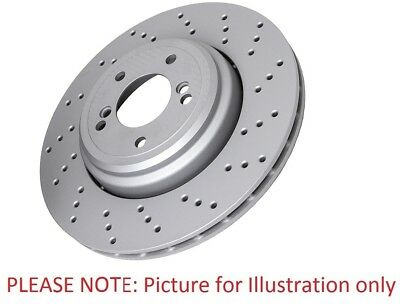 Eicher LW20201 Front Right Left Brake Disc Kit 2 Pieces 255mm Diameter Vented