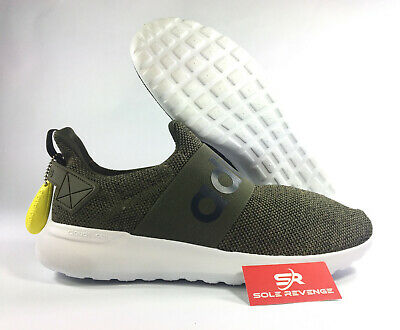 6688ba0d535c New adidas LITE RACER CF SLIP-ON ADAPT - Cloudfoam Green White Shoes BB1644