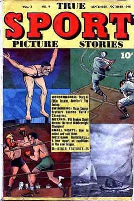 True Sport Picture Stories: Volume 3 #9 in Very Good - condition