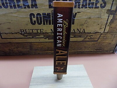 NEW BUD AMERICAN ALE  Beer Tap Handle Pull Keg Bar Brew Domestic in Box 8in
