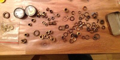 Antique Clock Dial Winding Hole Barrel Grommets  Clockmakers Selection