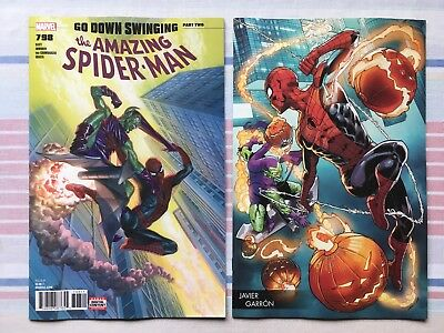 Amazing Spider-Man #798 Garron Variant & Cover A • NM • 1st App. of Red Goblin